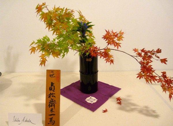 Arte Ikebana en Trabensol